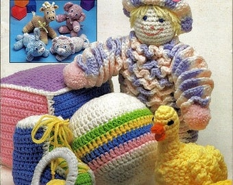 Baby's First Toy's Crochet Pattern The Needlecraft Shop 89T5