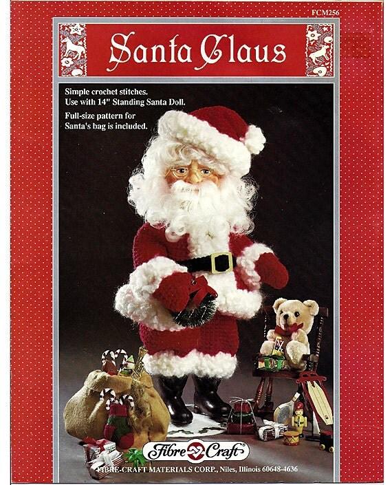 Santa Claus  Music  Crochet Doll Pattern Book  Fibre Craft FCM256