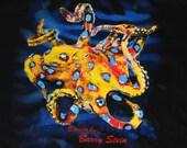 "GORGEOUS Tee SHIRT OCTOPUS ""Olympus Octopus"" Figurine Statue Sculpture Aquatic Art"