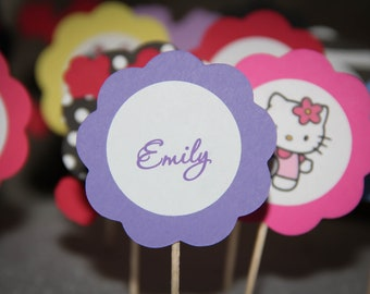 Name Cupcake Toppers (12)