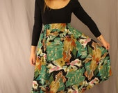 Betty Skirt- Abstact 1960's Skirt