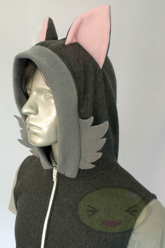 Wolf Hoodie, Costume, Cosplay, Adult Size, Hand-made