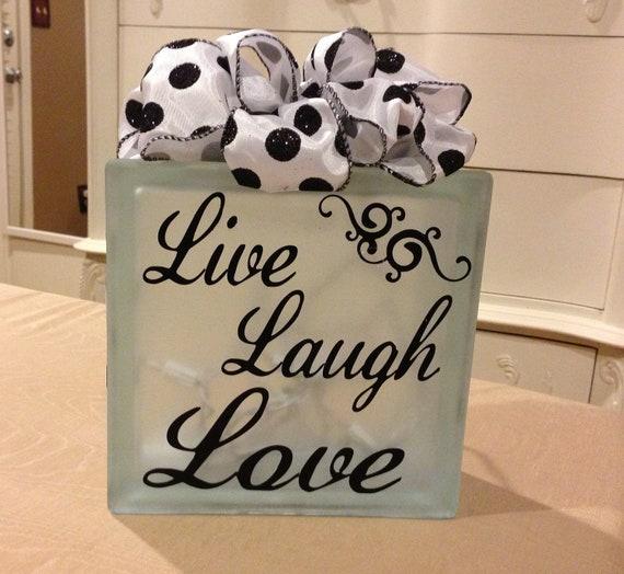Live Laugh Love Decorative Items