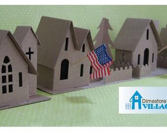 Dimestore Village Made in the USA