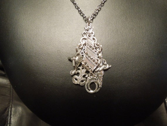 items similar to fifty shades of grey inspired necklace on