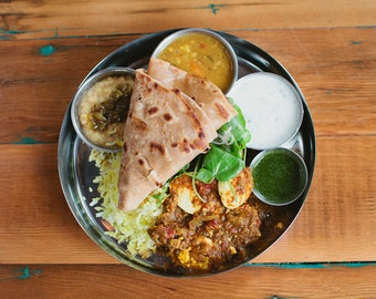 Indian Food Photo Fine Art Print (8x10)