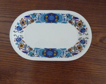 "Vintage Villeroy and Boch Izmir tray 1973, 9 1/2"" X 6"""