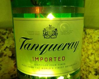Lighted Bottle Tangueray