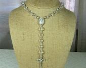 Vintage Beaded Rosary