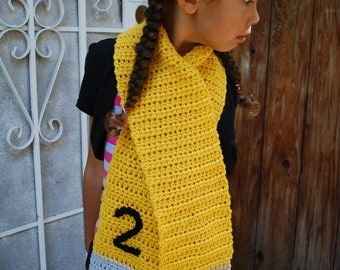 Pencil scarf (child size)
