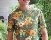 French Vintage 50s Top