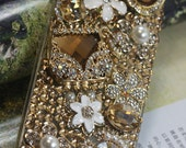 Apple iphone 4 4s case, iphone 5 case, ipod touch 4/ 5 case, samsung galaxy s3/s4/s4 active case,blackberry z10 , Q10 case Champagne Wallet