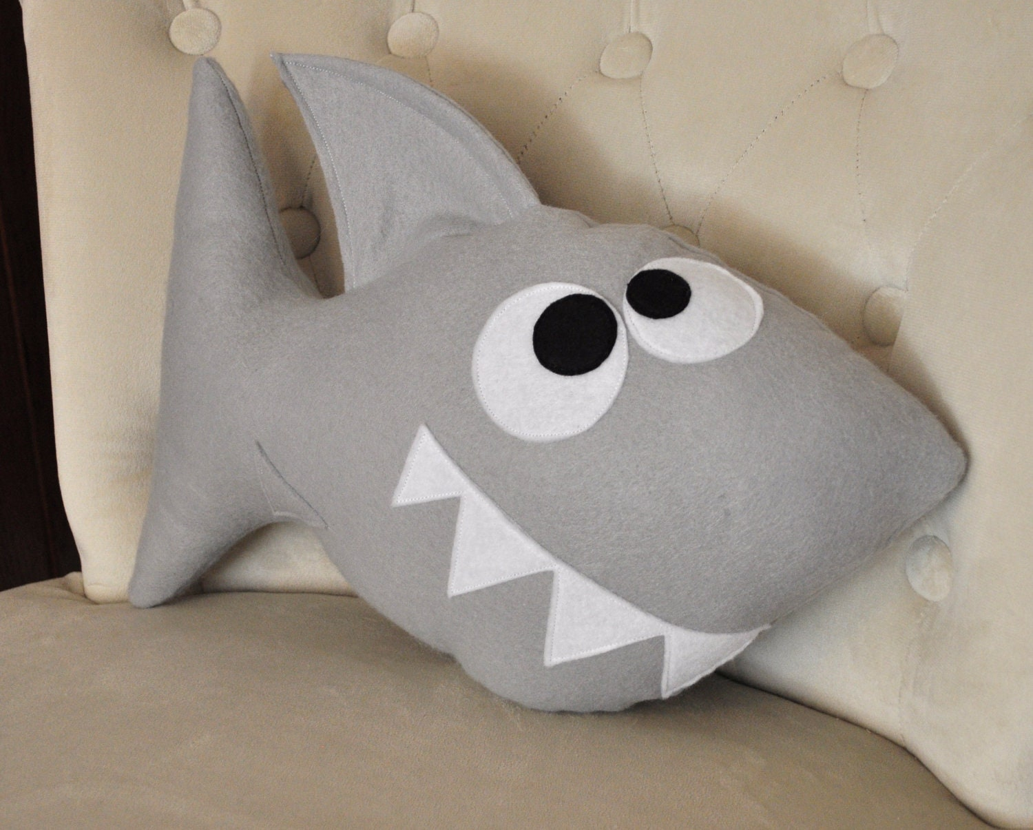 Shark Plush Pattern Pdf Tutorial And Printable Templates