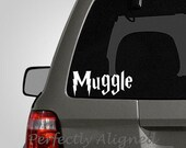 Harry Potter Inspired Muggle Car Decal