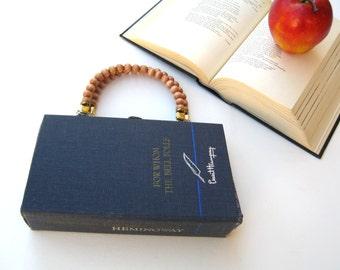 Hemingway- For Whom the Bell Tolls-Book Purse Handbag