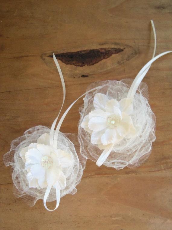 Hairpiece Wedding Bride Bridesmaids Flower Girl Hair Accessory Headdress
