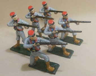 11th Zouaves of Indiana Civil War Toy Soldiers