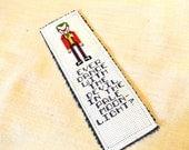 Batman Joker Quote Cross Stitch Bookmark