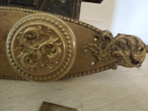 Reserved for Will....Sale price listed is 50% Off....Antique Russwin Door Plate Handle and Lock Mechanism Door Hardware