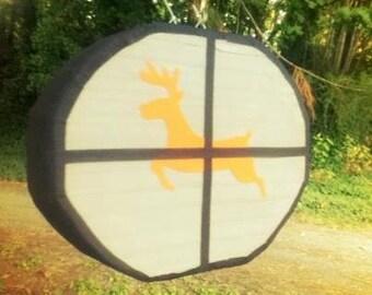 Hunting Deer in the Scope Pinata