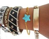 Turquoise Star Bracelet