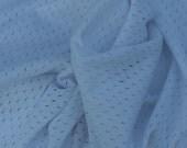White Mesh Swimsuit Linner Fabric, 1 Yard