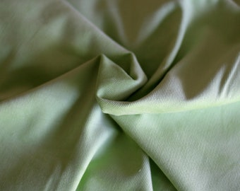 Cotton Featherwale Lime Green Corduroy: 1 Yard