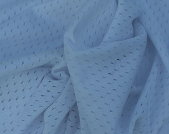White Mesh Swimsuit Linner Fabric, 1 Yard