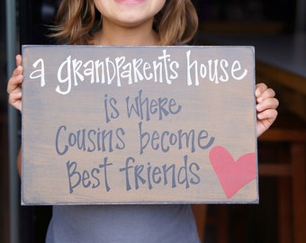 grandparents house Where cousins become best friends