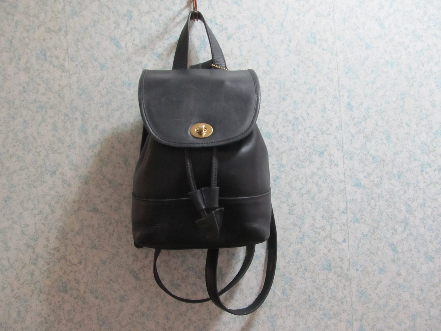 Coach backpack purse black Coach Purse 1990s by ...