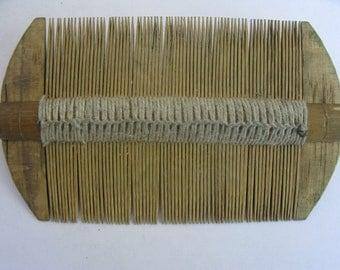 Hmong Bamboo Comb from Sapa Vietnam