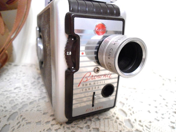 Kodak Brownie 8 mm Vintage Movie Camera 1950's