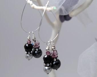 Swarovski Interchangeable Earring Charms with Earrings