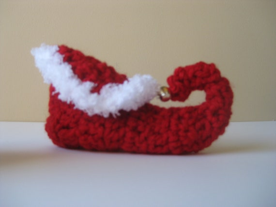 Photo Prop. Elf Shoes Christmas Shoes Elf Baby Shoes Boy Booties Crochet Elf Shoes Elf Booties Boy Shoes Holiday Boy Shoes