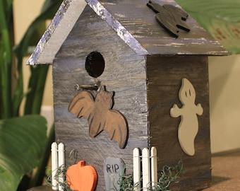 Haunted Bird House Halloween