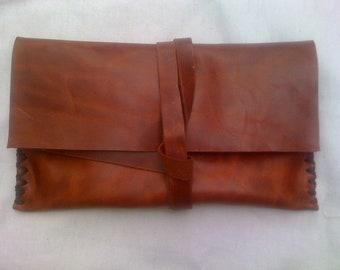 Designer Leather Wallet, Leather Portfolio Wallet, Handmade Pouches, Women Accessories