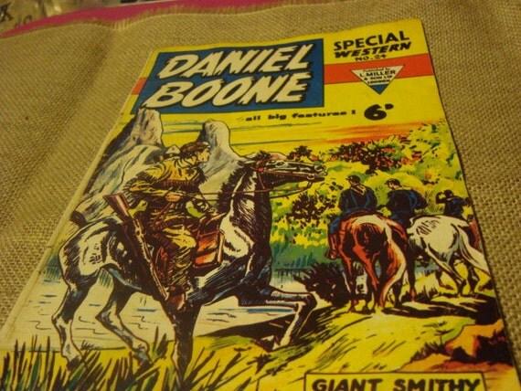 Daniel Boone comic book