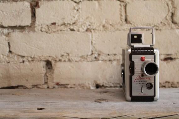 Vintage Kodak Brownie 8MM Camera