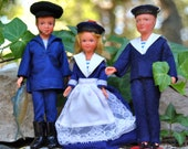 Sale on Three French Dolls from Toulon, France