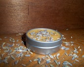 Lg 1oz Tin of All Natural Lavender Lip Balm