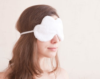 White Cloud Sleep Mask, Summer party, Summer Outdoors