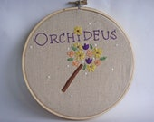 Potter Patterns - Orchideus