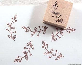 50% OFF SALE Flower pattern Rubber Stamp FP09