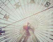 Ferris Wheel- 8x10 photograph - fine art print - Texas State Fair -Texas Ferris Wheel - Carnival Art