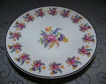 "Andrea"" floral design cake stand"