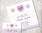 Birthday Princess invitation modern / FILE ONLY
