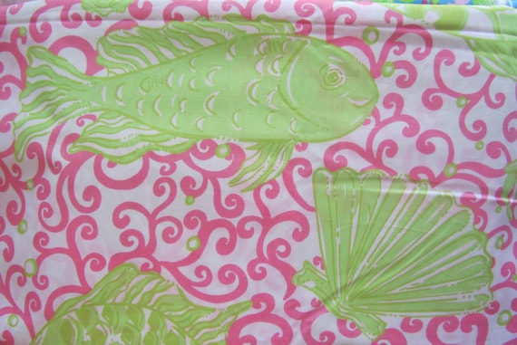 Last Chance cotton poplin 19 X 21 inches ~Lilly Pulitzer~