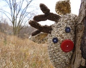 Reindeer Hat Knitting Pattern K110