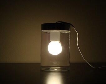 Small Modern Glass Tube Table Light / Glass Table Lamp/ Glass Floor Lamp