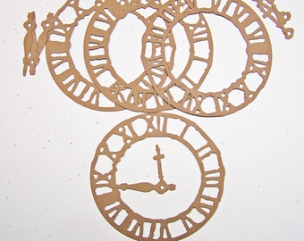 Tim Holtz Weather Clock Card Stock Set of 4